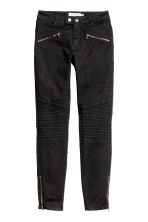 Pantaloni stile biker - Nero - DONNA | H&M IT 2