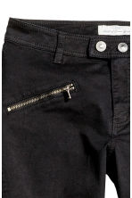 Pantaloni stile biker - Nero - DONNA | H&M IT 3