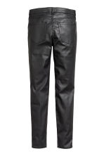 Pantaloni coated misto lyocell - Nero - DONNA | H&M IT 3