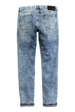 Slim Tapered Regular Jeans - Blu denim/Acid - UOMO | H&M IT 2
