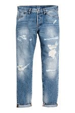 Azul denim trashed