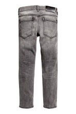 Skinny Fit Biker Jeans - Dark grey washed out - Kids | H&M CN 3