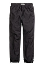Joggers Regular fit - Black - Men | H&M CN 2