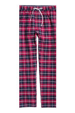 Pyjamas - White/Checked - Men | H&M CN 4