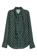 Dark green/Spotted