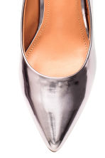 Shimmering court shoes - Silver -  | H&M IE 4