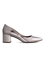 Shimmering court shoes - Silver -  | H&M IE 2