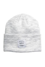 Knitted hat - Light grey - Men | H&M CN 1