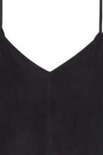 Tie-back strappy top - Black - Ladies | H&M CN 3