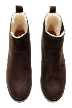 Warm-lined Chelsea boots - Dark brown - Ladies | H&M CN 2