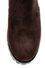 Warm-lined Chelsea boots - Dark brown - Ladies | H&M CN 3