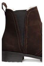 Warm-lined Chelsea boots - Dark brown - Ladies | H&M CN 4