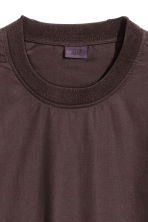 Woven T-shirt - Dark brown - Men | H&M CN 3