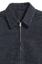 Denim shirt jacket - Dark blue - Men | H&M CA 3