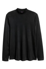 Long-sleeved T-shirt - Black - Men | H&M CN 2
