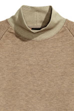 Turtleneck sweatshirt - Dark beige - Men | H&M CN 2