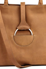 Nubuck handbag - Brown -  | H&M CN 5