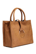 Nubuck handbag - Brown -  | H&M CN 2