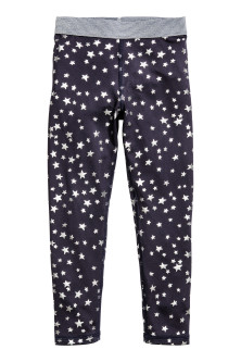 Patterned sports trousers