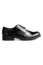 Derby shoes with chunky soles - Black - Men | H&M CN 1
