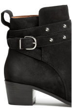 Suede boots - Black - Ladies | H&M GB 4