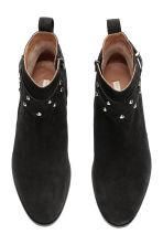 Suede boots - Black - Ladies | H&M GB 3