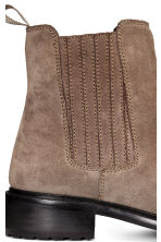 Lined suede Chelsea boots - Mole - Ladies | H&M CN 4