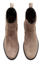 Lined suede Chelsea boots - Mole - Ladies | H&M CN 2