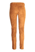 Trousers Slim fit - Camel - Ladies | H&M CN 3