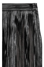 Short fringed skirt - Black - Ladies | H&M CA 3