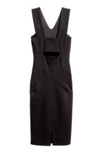 Fitted dress - Black - Ladies | H&M CN 3