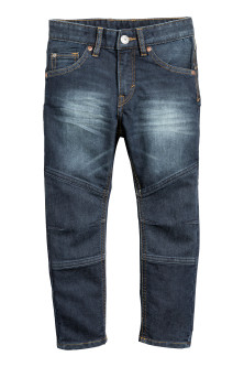 Reinforced Tapered Jeans