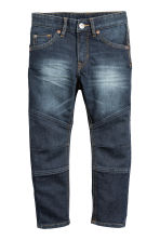 Tapered Jeans rinforzati - Blu denim scuro - BAMBINO | H&M IT 2
