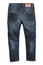 Tapered Jeans rinforzati - Blu denim scuro - BAMBINO | H&M IT 3
