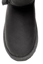 Warm-lined boots - Black -  | H&M CN 4