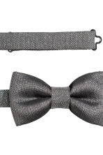 Bow tie and handkerchief - Grey - Men | H&M CN 2