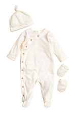 Welcome to the world set - Natural white -  | H&M CN 1