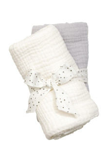 2-pack muslin squares