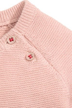 Knitted dress - Powder pink - Kids | H&M CN 2