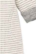 Textured dress - Natural white/Grey - Kids | H&M CN 2