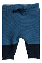 Knitted jumper and trousers - Dark blue - Kids | H&M CN 2