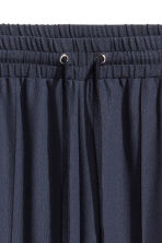 Wide trousers - Dark blue/Red - Ladies | H&M GB 4