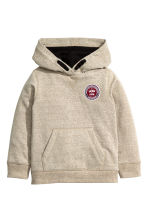 Hooded top - Beige marl - Kids | H&M CN 2