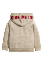 Hooded top - Beige marl - Kids | H&M CN 3