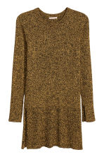 H&M+ Rib-knit jumper - Yellow marl - Ladies | H&M CN 2