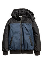 Padded jacket - Dark blue marl - Kids | H&M CN 2