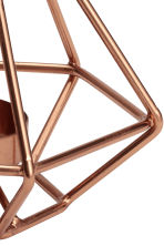 Metal tealight holder - Copper - Home All | H&M GB 2