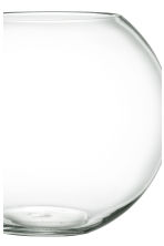 Grand vase en verre - Verre transparent - Home All | H&M FR 2