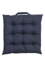 Seat cushion - Dark blue - Home All | H&M CN 1