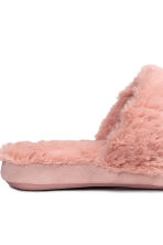 Soft slippers - Old rose - Ladies | H&M CN 4